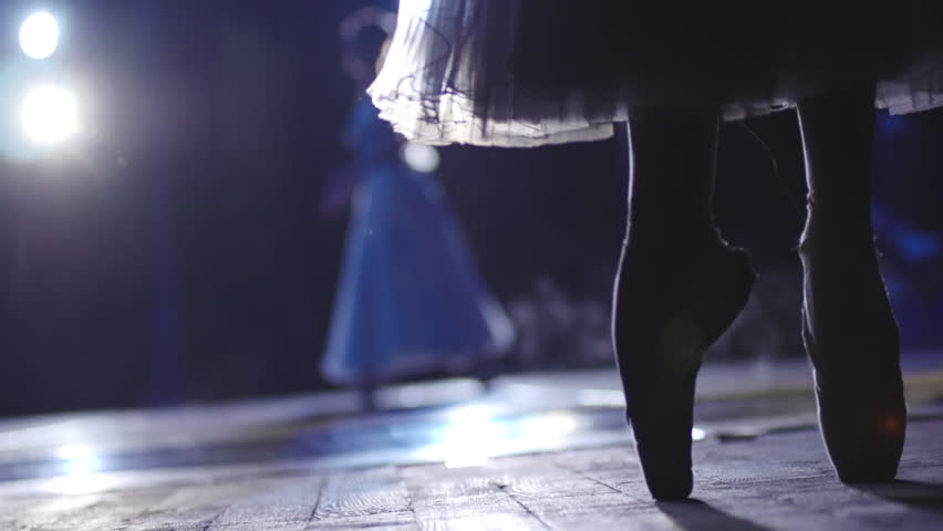 Stock video footage classical ballet ballerina on pointe | Shutterstock HD Video #7339777