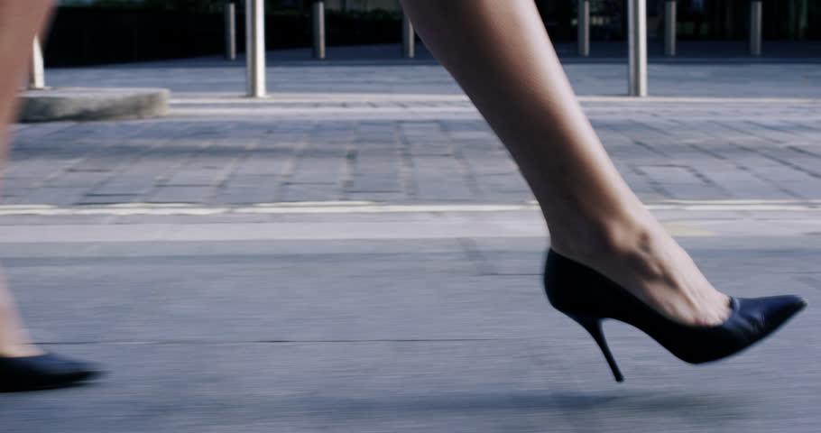 Legs in Heels are Lying. Stock Footage Video (100% Royalty