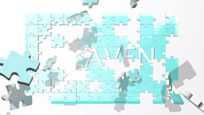 Heaven puzzle animation