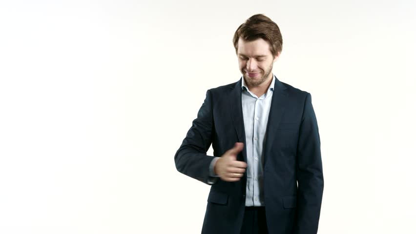 Successful businessman - 4K stock footage clip
