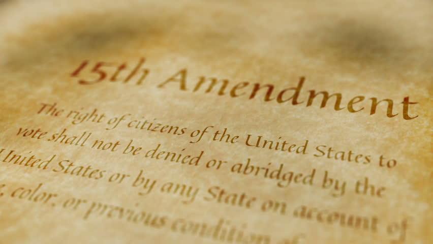 15th amendment essay