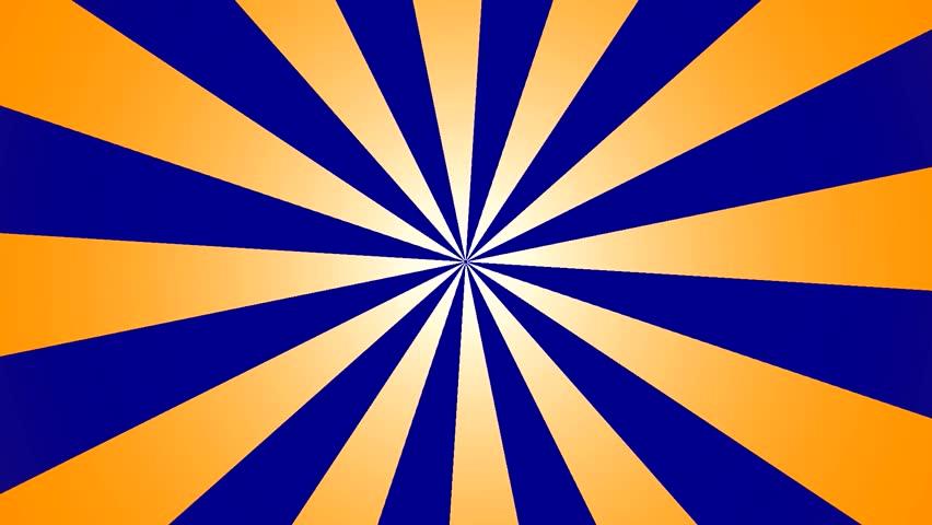 blue flag by using green sun