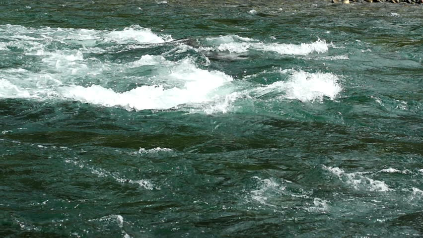 Rough Mountain Stream in Slow Motion   Shutterstock HD Video #7658368