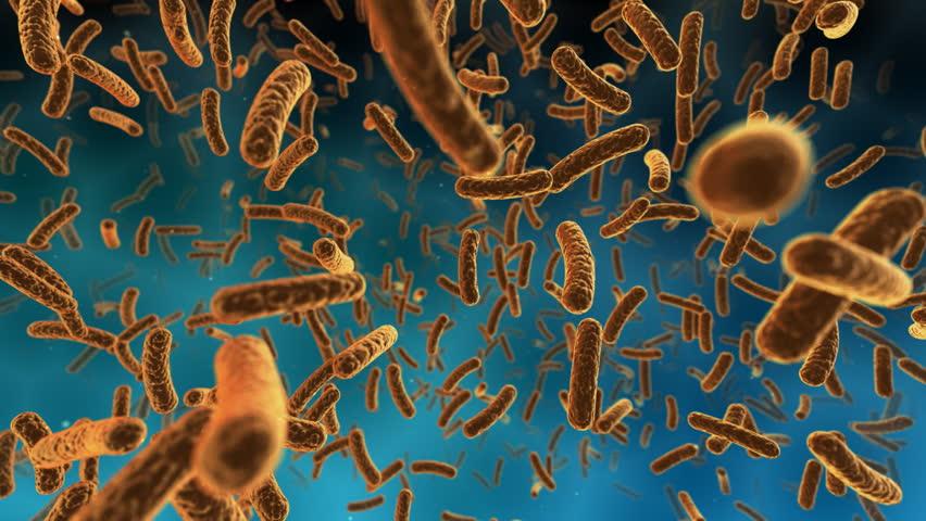 Virus Cell image.