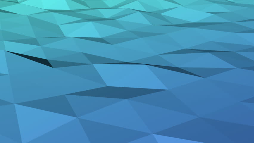 Abstract background of polygonal waves | Shutterstock HD Video #7716094