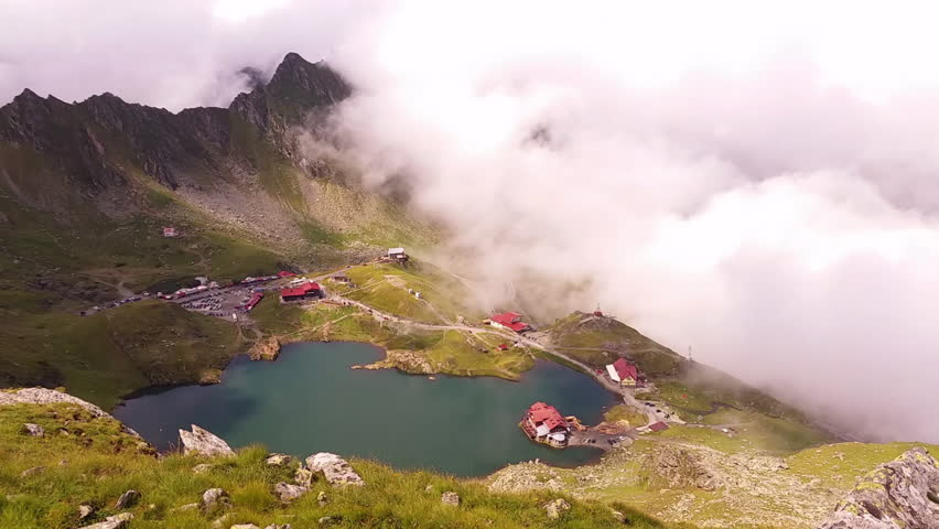 Clouds over Balea Lake (Transfagarasan)