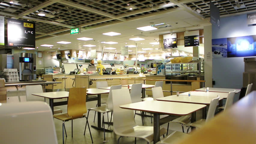 paris france november 02 2014 interior of modern cafeteria restaurant in ikea store every. Black Bedroom Furniture Sets. Home Design Ideas