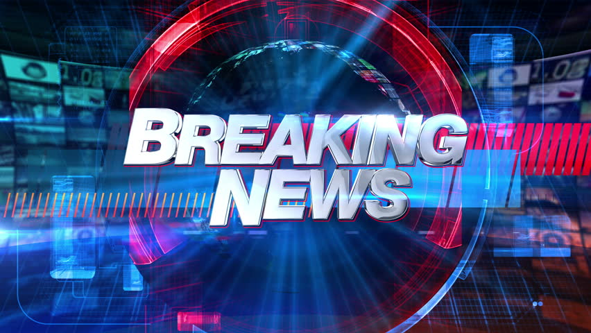 Breaking News - Broadcast Graphics Title Animation