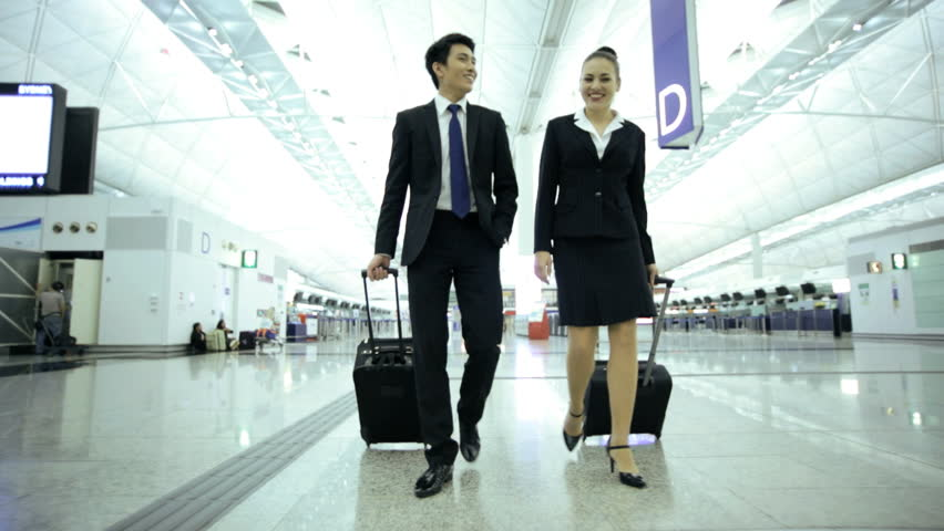 young asian chinese caucasian smart suit male female