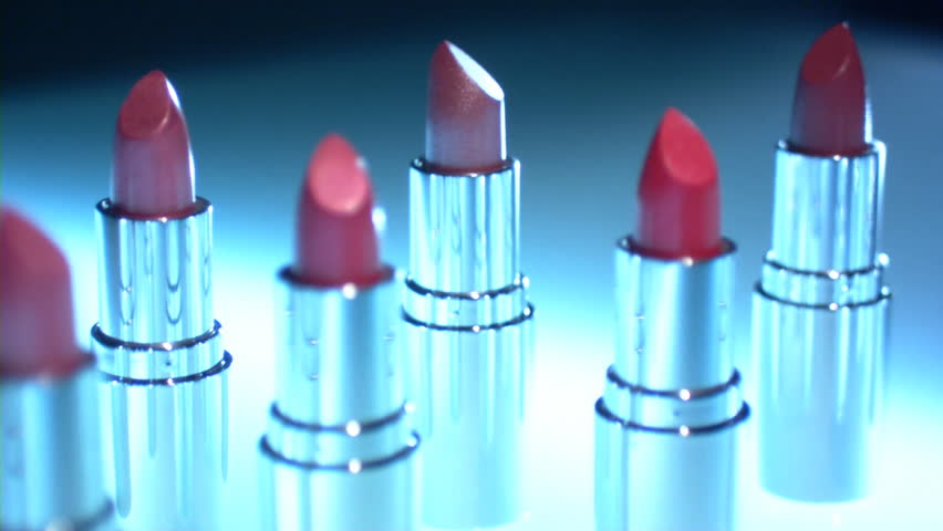 lipstick - HD stock footage clip