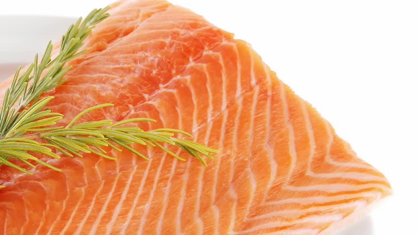Fresh raw red fish fillet plate and rosemary 1920x1080 for Red fish fillet