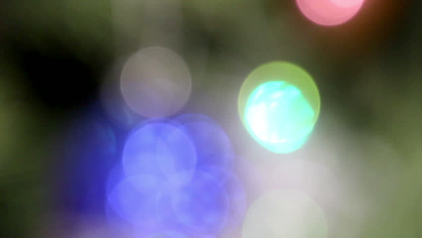 unfocused lights background - HD stock video clip