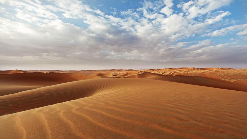 UAE Desert Liwa Moreeb Dune Timlapse