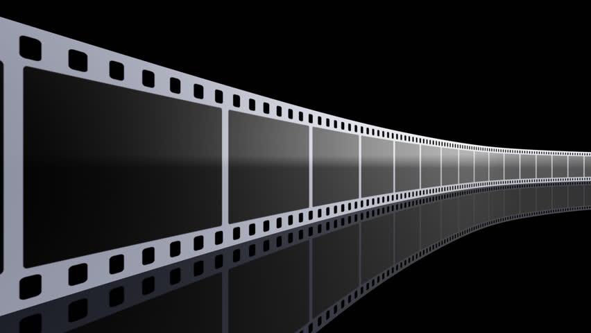 Film strip. - HD stock footage clip