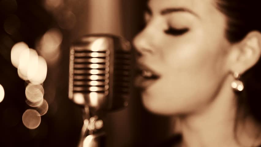 singing the girl retro - photo #25