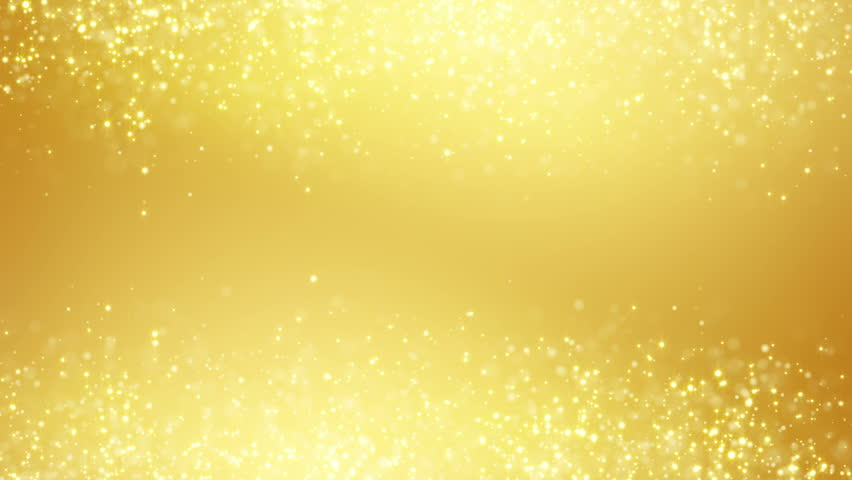 Abstract Yellow Gold And White Background With Shiny Dots ...