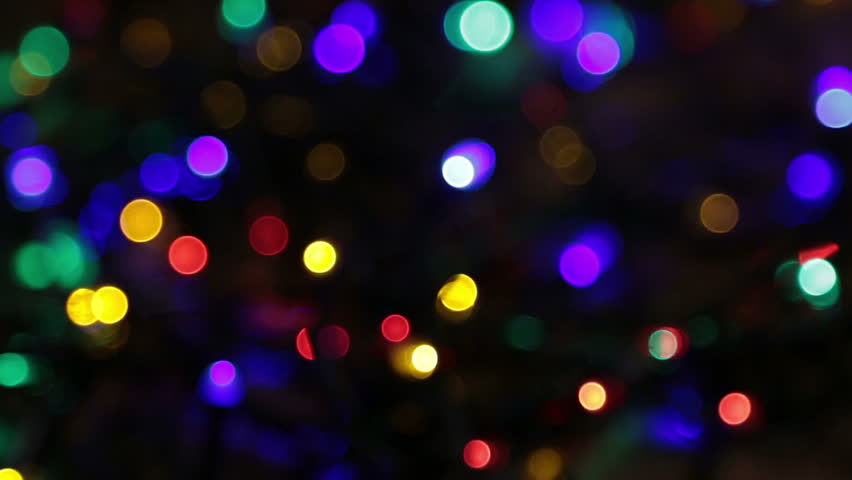 Brilliant Light Effects Background Elegant Hd Light: Blurred Christmas Lights Abstract Background On Black