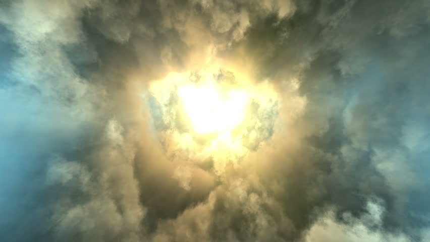 cinematic animation background, flying through stormy clouds, looped (Hd, 4k ultra high definition seamless loop, 3840 X 2160, ready for compositing) great intro or titles sequence