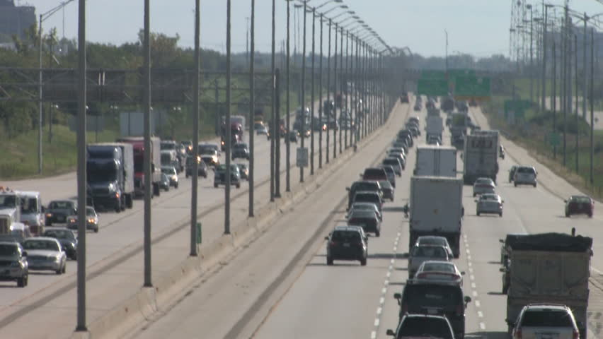 Super Highway, Telephoto 2 - HD stock video clip
