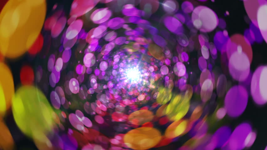 Abstract Sphere Background Tunnel