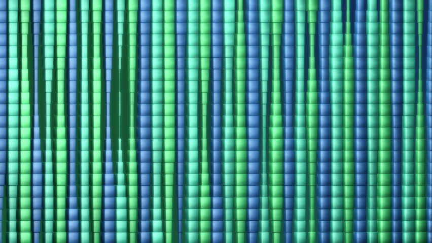 3D Looping Background - Green electric fluid. High definition motion background for music videos, broadcast, television, film, editing, live visuals, VJ loops, youtube shows, or art installations.