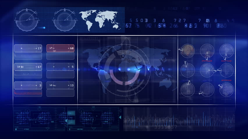 Abstract technology background LOOP   Shutterstock HD Video #8434510