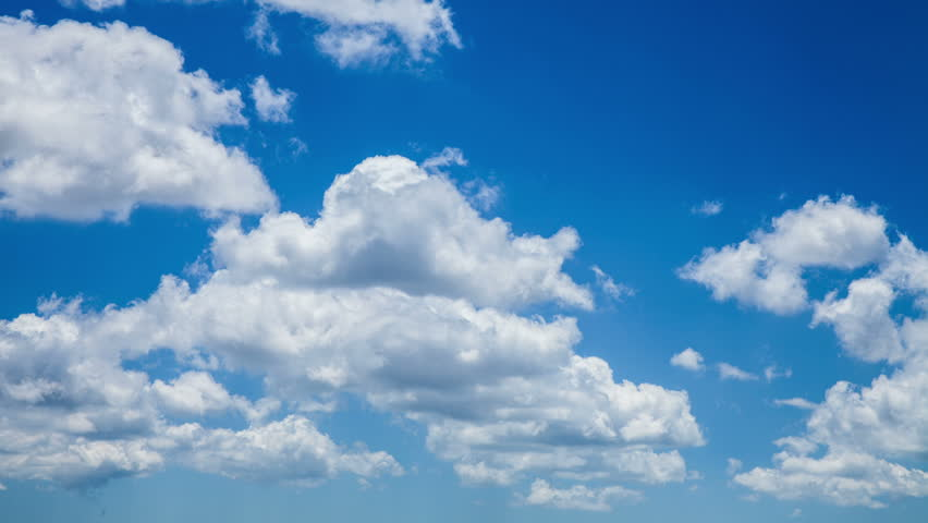 Time lapse of tropical clouds on sunny day. HD 1080 - HD stock video clip