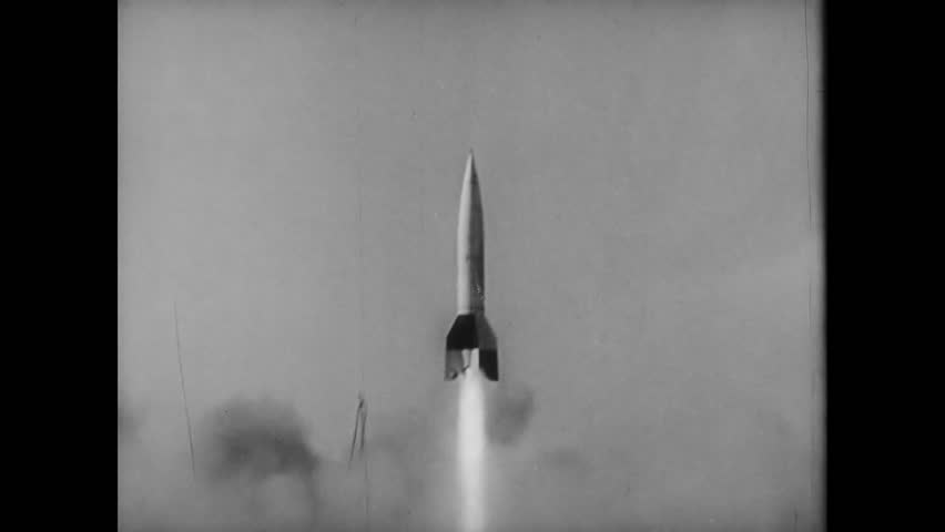 V-2 missile launch, World War II