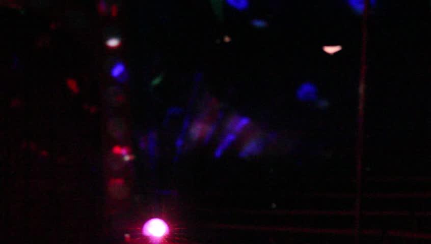 Flickering lights. Defocus 4