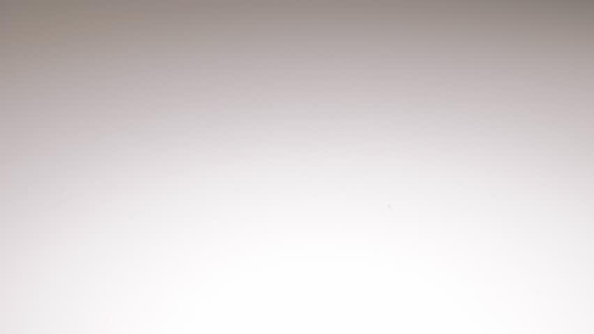 Lemon On White Reflective Background Dolly 4k 2160p Uhd