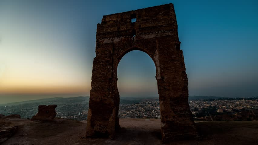 The Marinid Tombs, Fes, Morocco