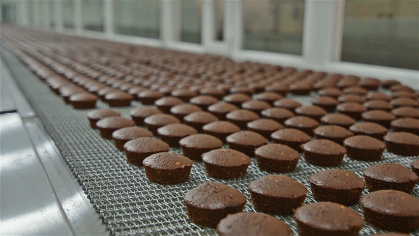 Brownie baking production plant #8667934