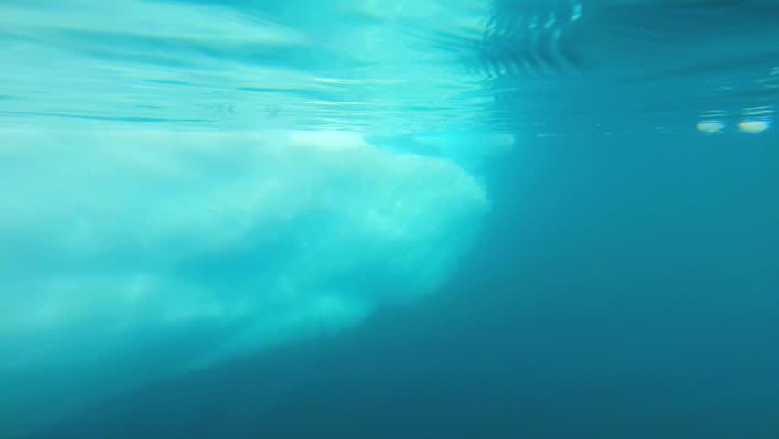 Header of polar ice