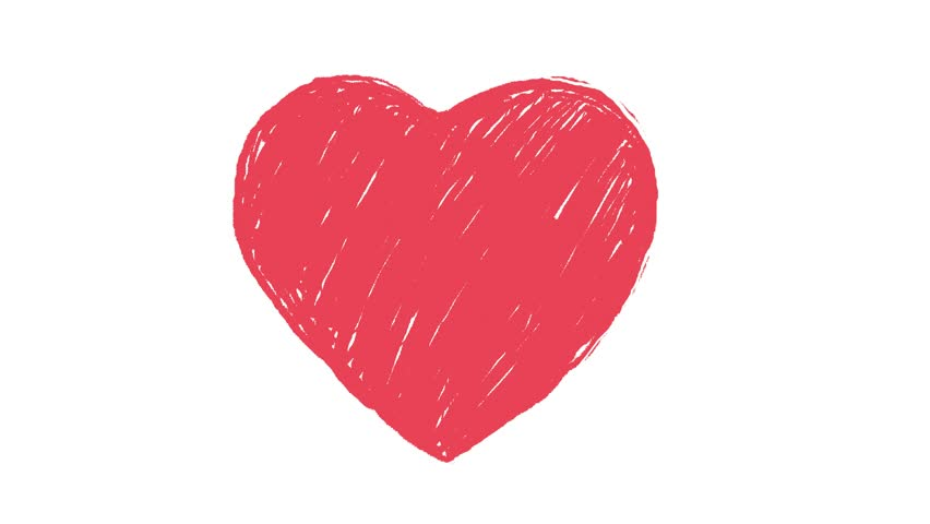 hand drawn heart animation loop stock footage video 8781346 shutterstock beating human heart clipart beating human heart clipart