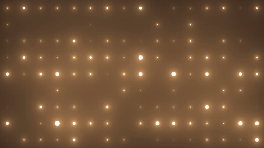 Disco spectrum lights concert spot bulb. Abstract motion background in gold colors, shining lights, energy waves and sparkling particles.  Seamless loop. More sets footage  in my portfolio. | Shutterstock HD Video #8785141