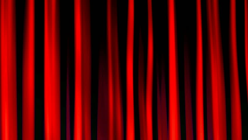 Red Drapes Seamless Loop #879460