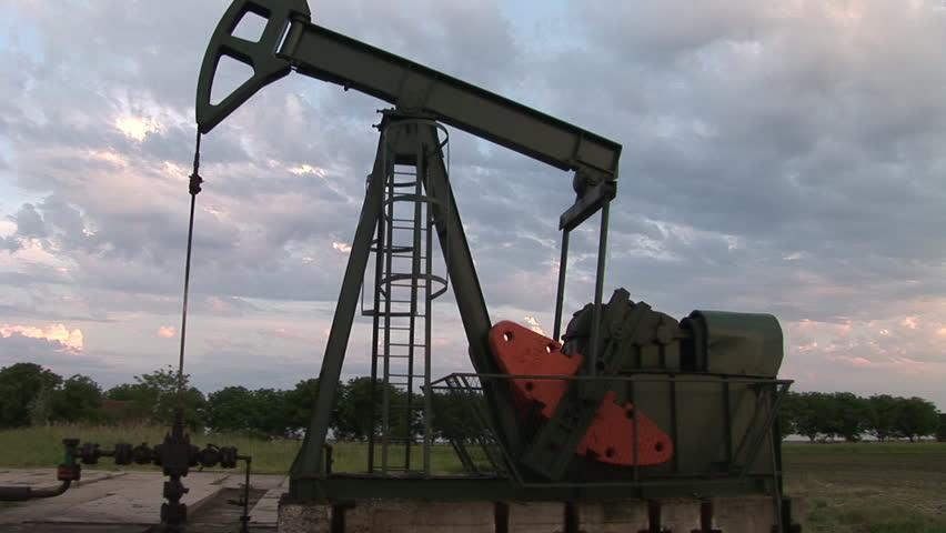 Oil Pump - HD stock footage clip