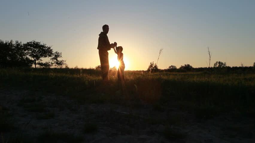Happy family. - HD stock footage clip