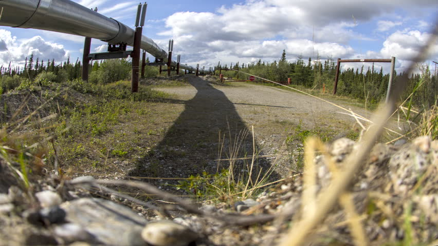 Header of access road