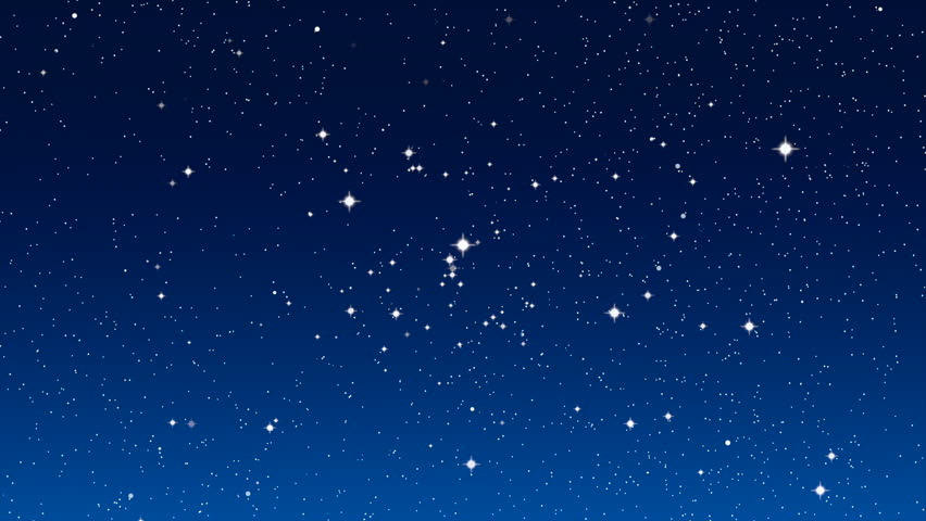 Twinkling stars in simulated night sky stock footage video 8429926 shutterstock - Images night sky and stars ...