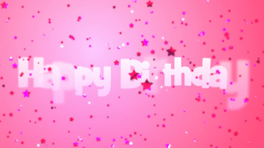 happy birthday pink background wwwimgkidcom the