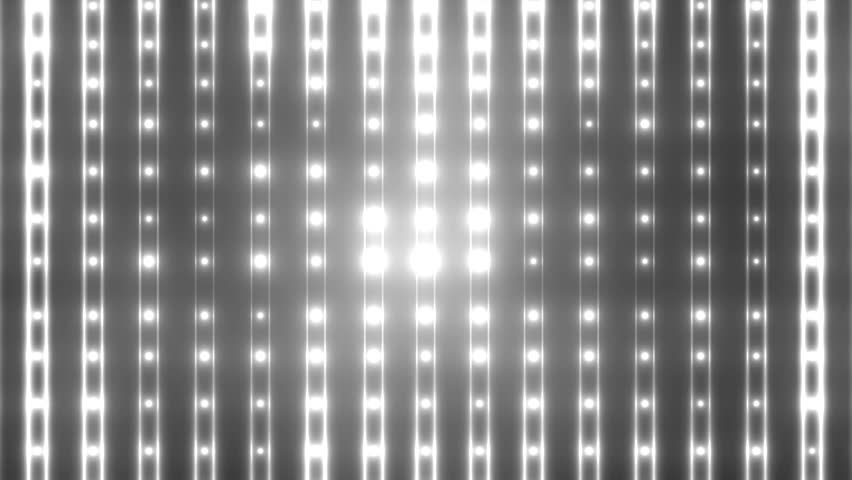 Flood lights disco background with vertical lines and strips. Flood lights flashing.  Silver tint on black background. Seamless loop. look more options and sets footage  in my portfolio | Shutterstock HD Video #8973808