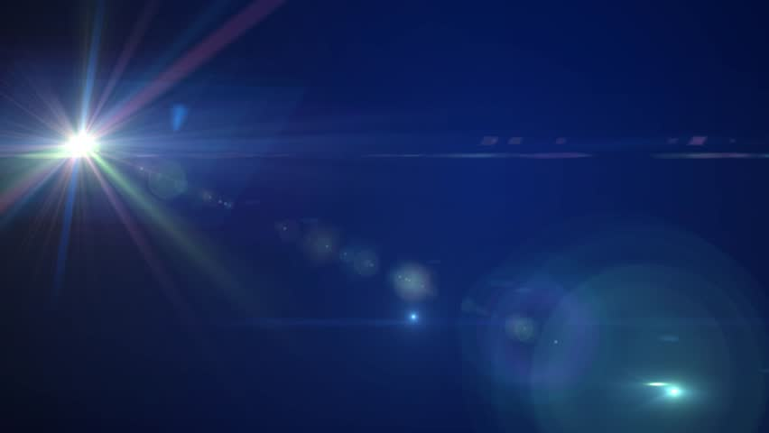 Fantasy glowing lens flares abstract background | Shutterstock HD Video #9008431