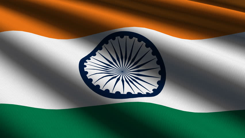 Indian Flag Images Hd720p: HD Loop Stock Footage Video