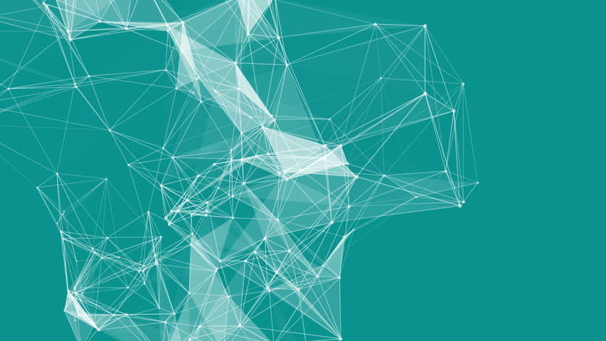Seamless Space Background Abstract Connections M...