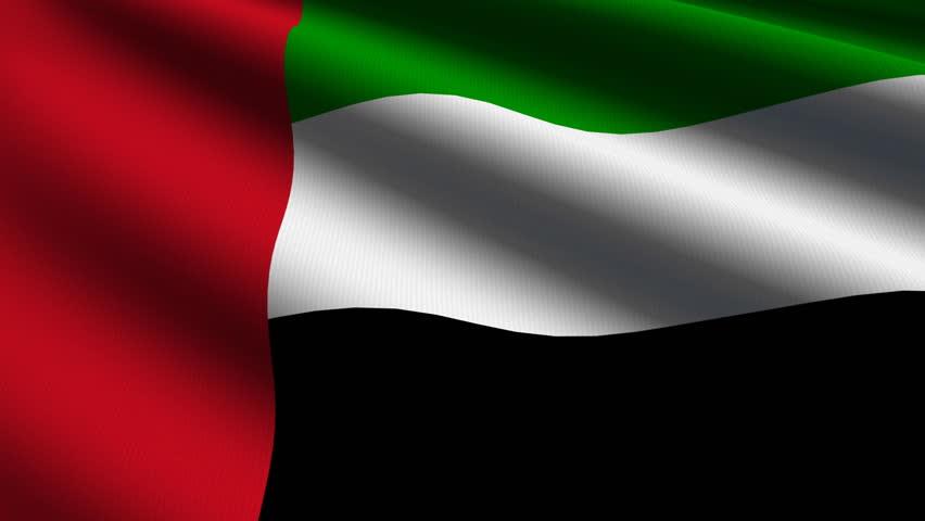 United Arab Emirates Flag Spinning Globe With Shining ...Uae Flag Animation