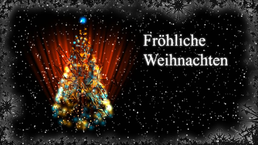 animated merry christmas text in german frohe weihnachten. Black Bedroom Furniture Sets. Home Design Ideas