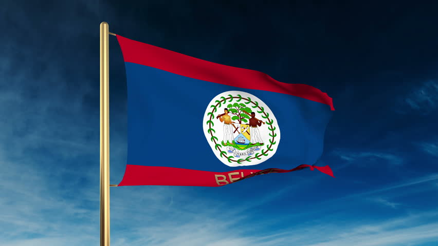 Belize flag slider sty...