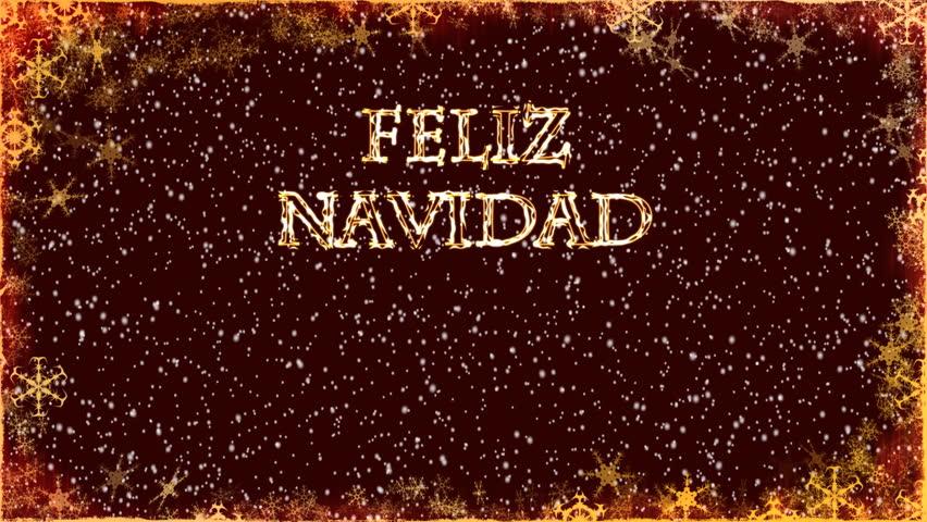Christmas Card - Christmas 32 - Spanish - Animated ...
