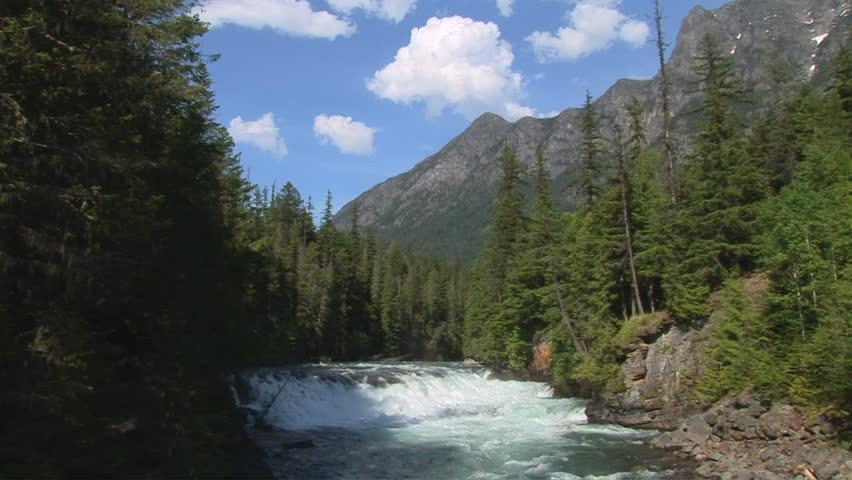 Mcdonald creek glacier national park montana stock for Fishing in glacier national park
